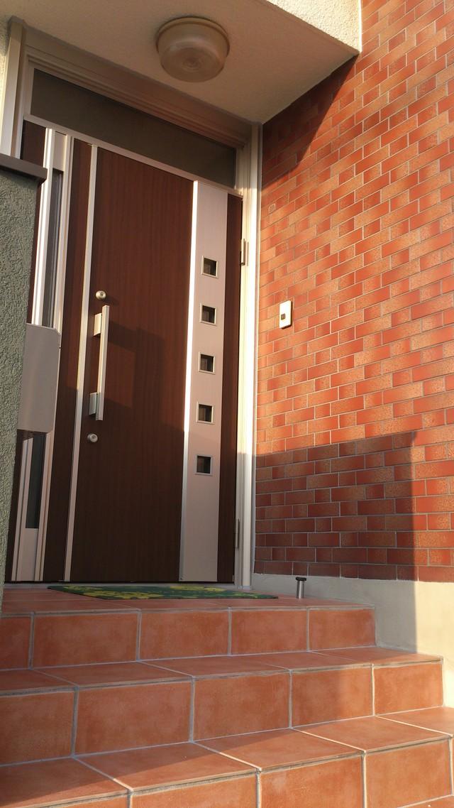 断熱ドアで新築のように