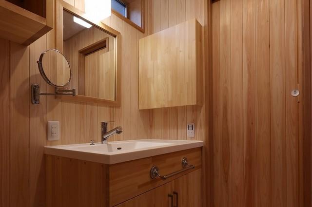 自然素材をふんだんに使った趣味を楽しむ家